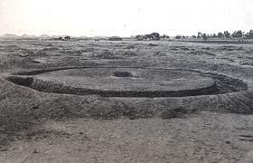 tumulus de tombeaux (Ballana)